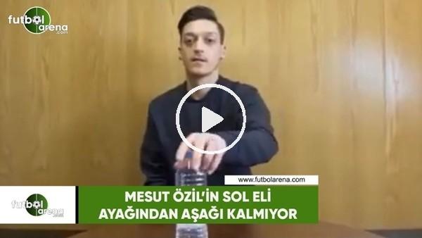 Mesut Özil'in sol eli ayağından aşağı kalmıyor