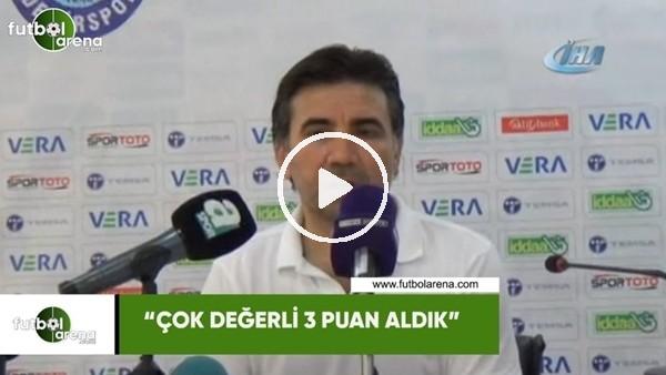 """'Osman Özköylü: """"Çok değerli 3 puan aldık"""""""