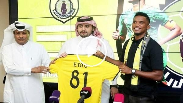 Samuel Eto'o, Qatar Sports'ta!