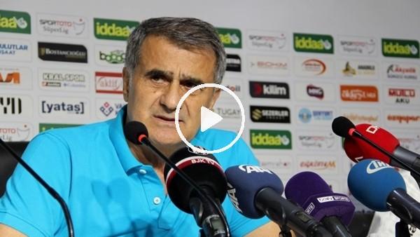 Şenol Güneş'in Erzurumspor maçı sonrası açıklamaları
