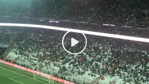 Beşiktaş - LASK Linz maçında tribünler