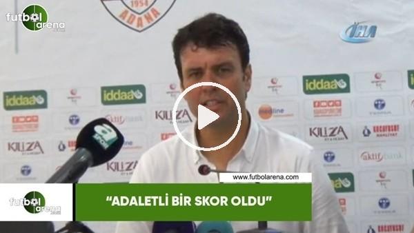 """'Cihat Arslan: """"Adaletli bir skor oldu"""""""
