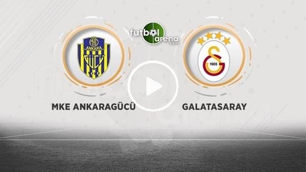 FutbolArena TV'de Ankaragücü - Galatasaray maçına doğru