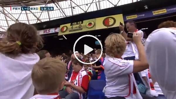 'Feyenoord taraftarından örnek davranış