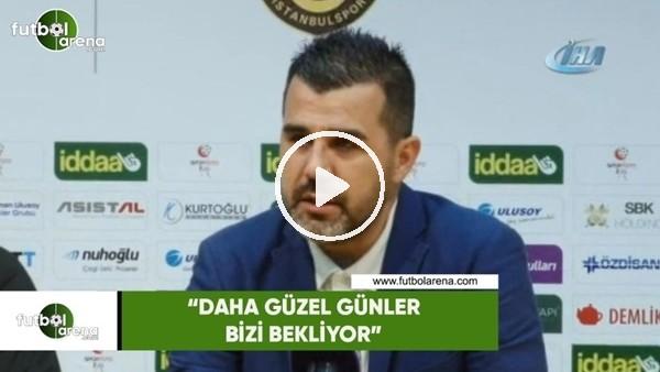 """Mustafa Alper Avcı: """"Daha güzel günler bizi bekliyor"""""""