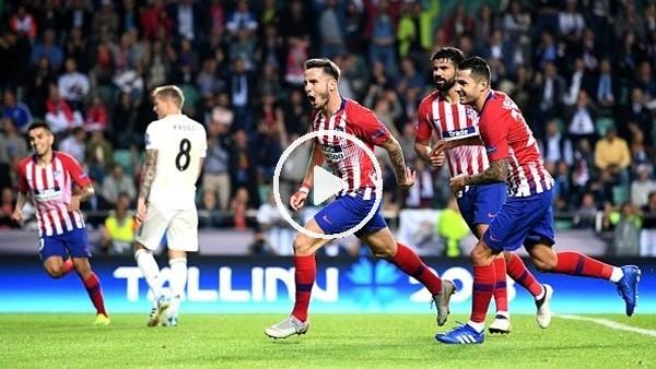 'Real Madrid 2-4 Atletico Madrid (Maç özeti ve golleri)