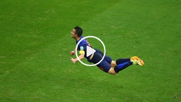 """'""""Uçan Hollandalı"""" Robin van Persie 35 yaşında..."""