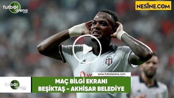 Beşiktaş - Akhisarspor   Bilgi Ekranı