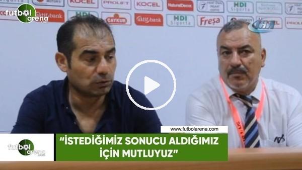 """Metin Diyadin: """"İstediğimiz sonucu aldığımız için mutluyuz"""""""
