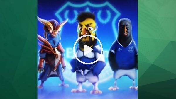 'Cenk Tosun,  Angry Birds oyununda karakter oldu
