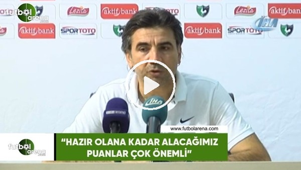 """'Osman Özköylü: """"Hazır olana kadar alacağımız puanlar çok önemli"""""""