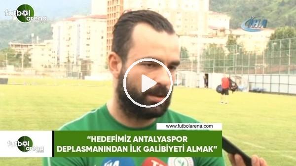 """'Mehmet Uslu: """"Hedefimiz Antalyaspor deplasmanından ilk galibiyeti almak"""""""