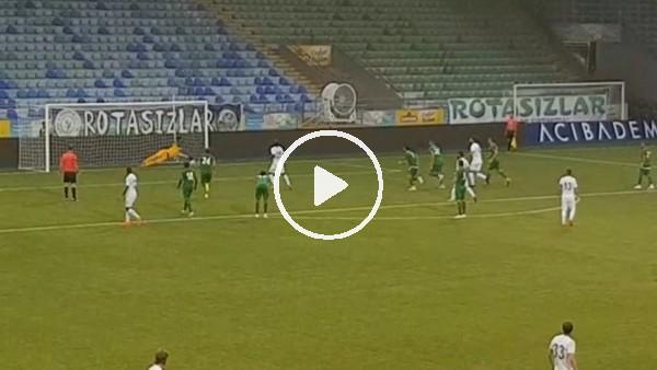 Dauda'nın Çaykur Rizespor'da penaltıdan attığı gol