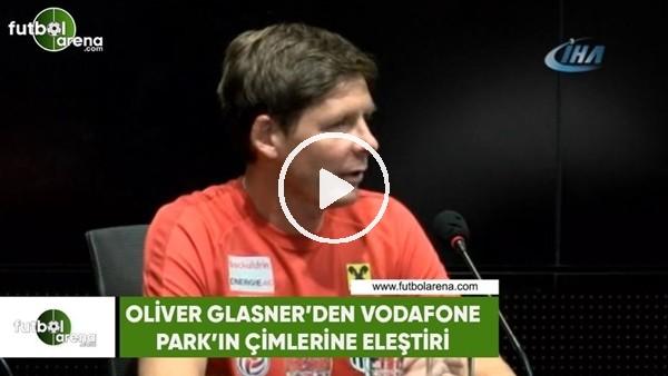 Oliver Glasner'den Vodafone Park'ın çimlerine eleştiri