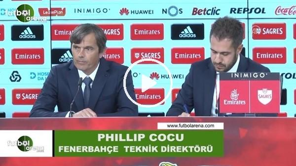 """Phillip Cocu: """"Benfica'ya karşı ilk yarıda çok iyi oynadık"""""""