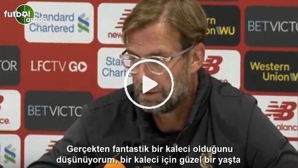 'Klopp, Karius'un Beşiktaş'a transferi hakkında konuştu