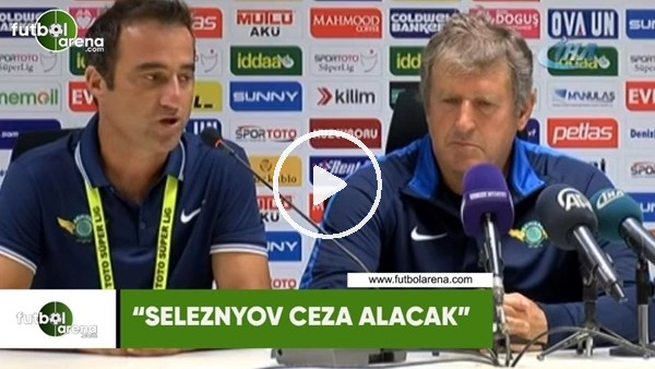 "Safet Susic: ""Seleznyov ceza alacak"""