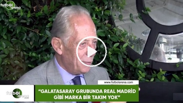 """Faruk Süren: """"Galatasaray'ın grubunda Real Madrid gibi marka bir takım yok"""""""
