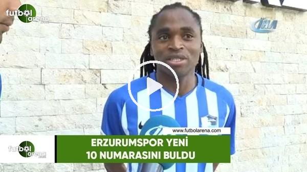 'Erzurumspor yeni 10 numarasını buldu