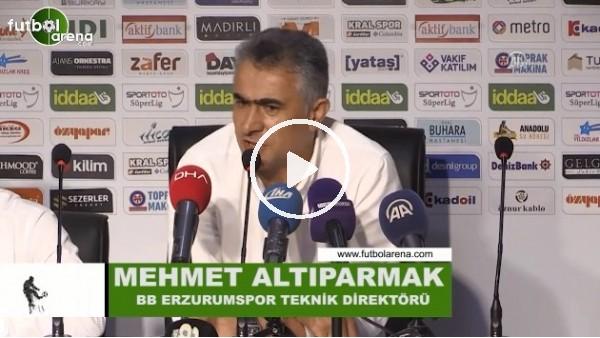 """'Mehmet Altıparmak: """"Pozisyon vermeden yenildik"""""""