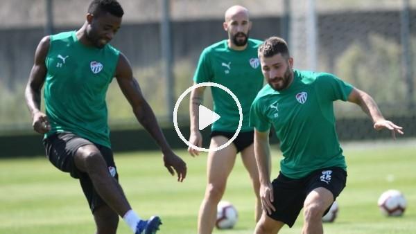 'Bursaspor'da Başakşehir maçı hazırlıkları