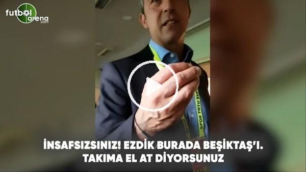 """'Ali Koç: """"Beşiktaş'ı ezdik burada, takıma el at diyorsunuz"""""""