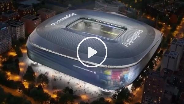 Real Madrid yeni stadını tanıttı