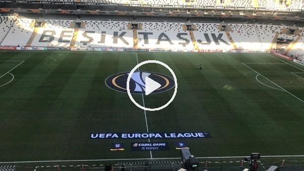'Vodafone Park, Beşiktaş - Sarpsborg maçına hazır