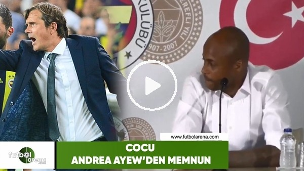 'Phillip Cocu, Andre Ayew'den memnun!