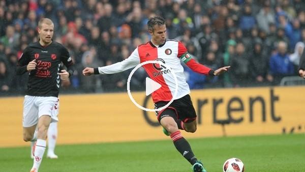 'Robin van Persie attı, Feyenoord kazandı!