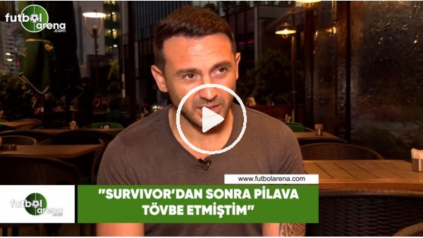 "'Ahmet Dursun ""Survivor'dan sonra pilava tövbe etmiştim"""