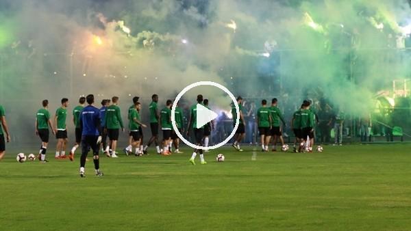 'Çaykur Rizespor taraftarından futbolculara destek