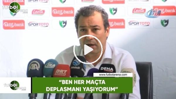 """Orhan Kaynak: """"Ben her maçta deplasmanı yaşıyorum"""""""