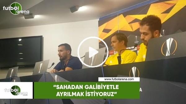 """'Mehmet Topal: """"Sahadan galibiyetle ayrılmak istiyoruz"""""""