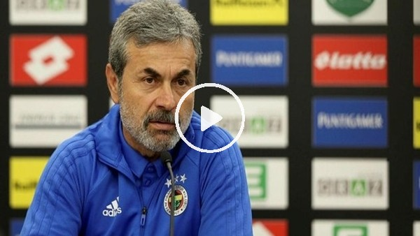 """'Aykut Kocaman: """"Fenerbahçe taraftarı takımının yanında olsun"""""""
