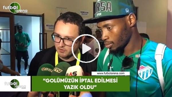 """'Sakho: """"Golümüzün iptal edilmesi yazık oldu"""""""