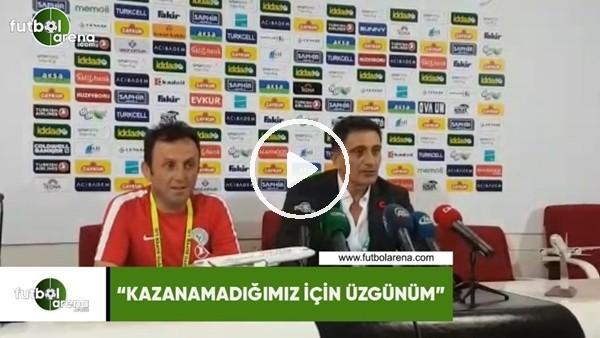 """'Mehmet Ali Karaca: """"Kazanamadığımız için üzgünüm"""""""