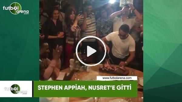 'Stephen Appiah, Nusret'e gitti