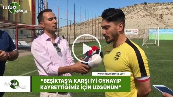 """'Murat Yıldırım: """"Beşiktaş'a karşı iyi oynayıp kaybettiğimiz için üzgünüm"""""""
