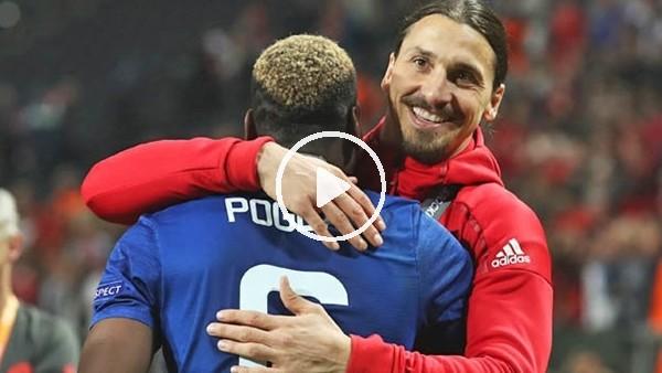 'Pogba'dan Zlatan'a tebrik!