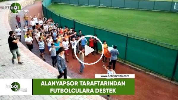 Alanyaspor taraftarından futbolculara destek