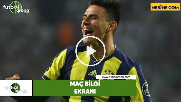 'Fenerbahçe - Beşilktaş | Bilgi Ekranı