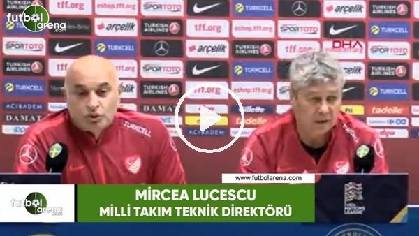 """Mircea Lucescu: """"Niye onu bunu almıyorsun diye soruyorsunuz, öyle oyuncu yok"""""""