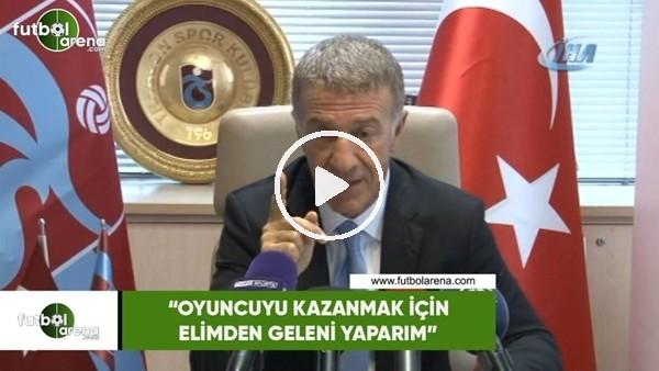 """Ahmet Ağaoğlu: """"Oyuncuyu kazanmak için elimden geleni yaparım"""""""