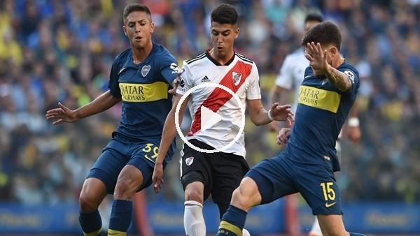 'Boca Juniors 0-2 River Plate (Maç özeti ve golleri)