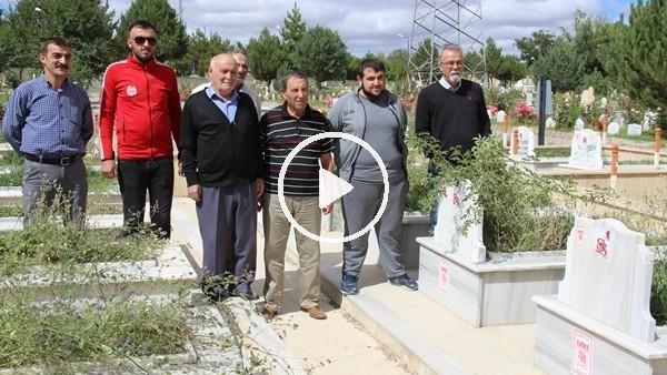 '51 yıl önce maçta ölen Sivasspor taraftarları unutulmadı