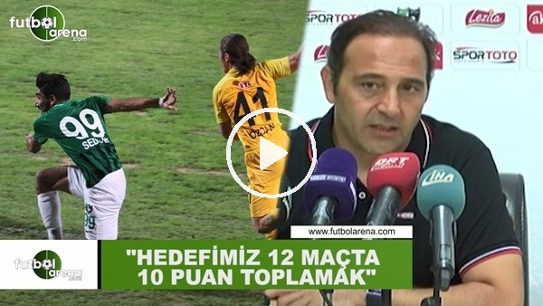 """Fuat Çapa: """"Hedefimiz 12 maçta 10 puan toplamak"""""""