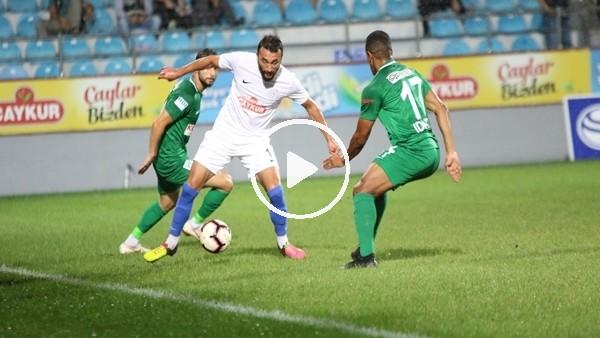 Çaykur Rizespor ile Giresunspor hazırlık maçı yaptı