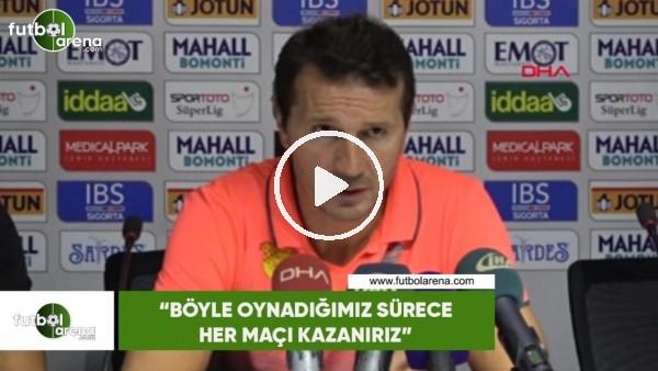 """'Bayram Bektaş: """"Böyle oynadığımız sürece her maçı kazanırız"""""""