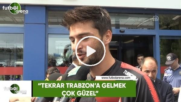 """Okay Yokuşlu: """"Tekrar Trabzon'a gelmek çok güzel"""""""